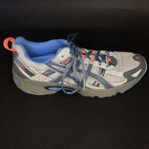 ASICS GEL VENTURE 5 Silver Grey Carbon Blue Trail